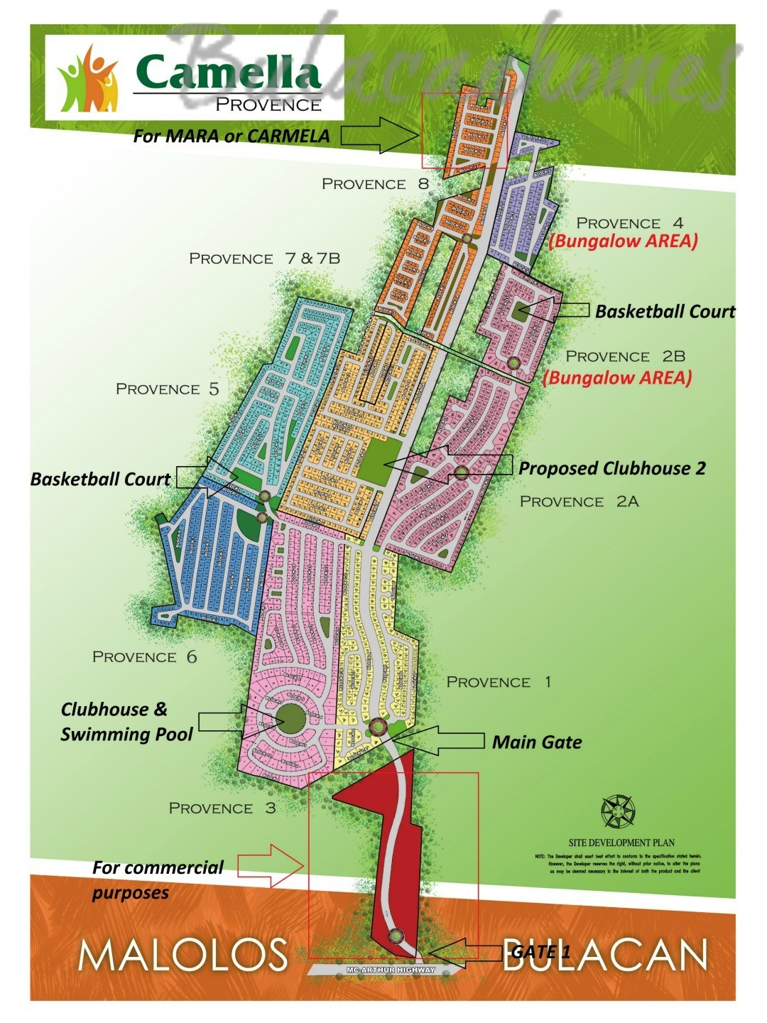 Camella homes provence camella provence camella malolos for Camella homes design with floor plan