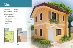 Rina Floor Plan Camella Homes Bulacan