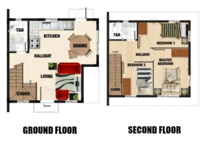 Carmela Floor Plan - Camella Homes Bulacan