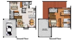 Elaisa Floor Plan - Camella Homes Bulacan Provence