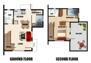 Mara Floor Plan - Camella Homes Bulacan malolos