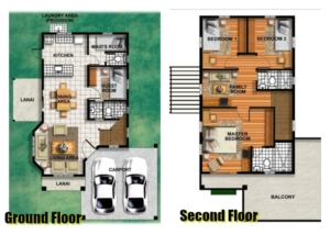 Ruby Model - Floor plan - Camella Homes Bulacan