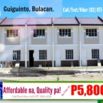 Brooklyn Heights Guiguinto, Bulacan (Townhouse Model)