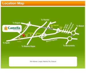Camella Provence Vicinity Map