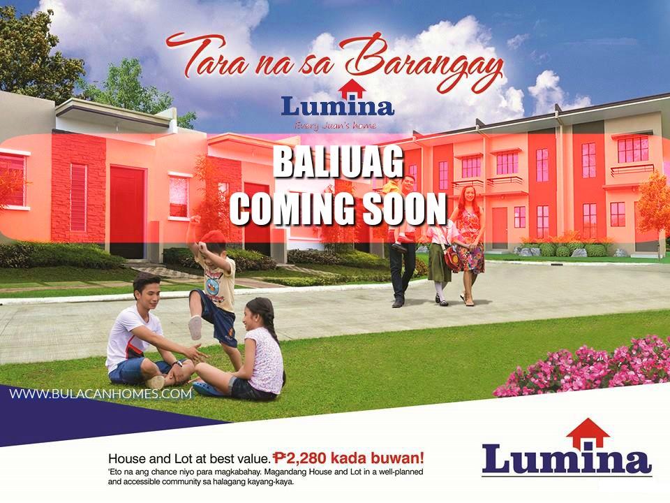 Lumina Baliwag Coming Soon Bulacanhomes