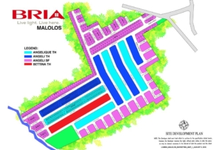 bria homes malolos site development plan