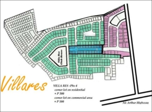 Villares site development plan