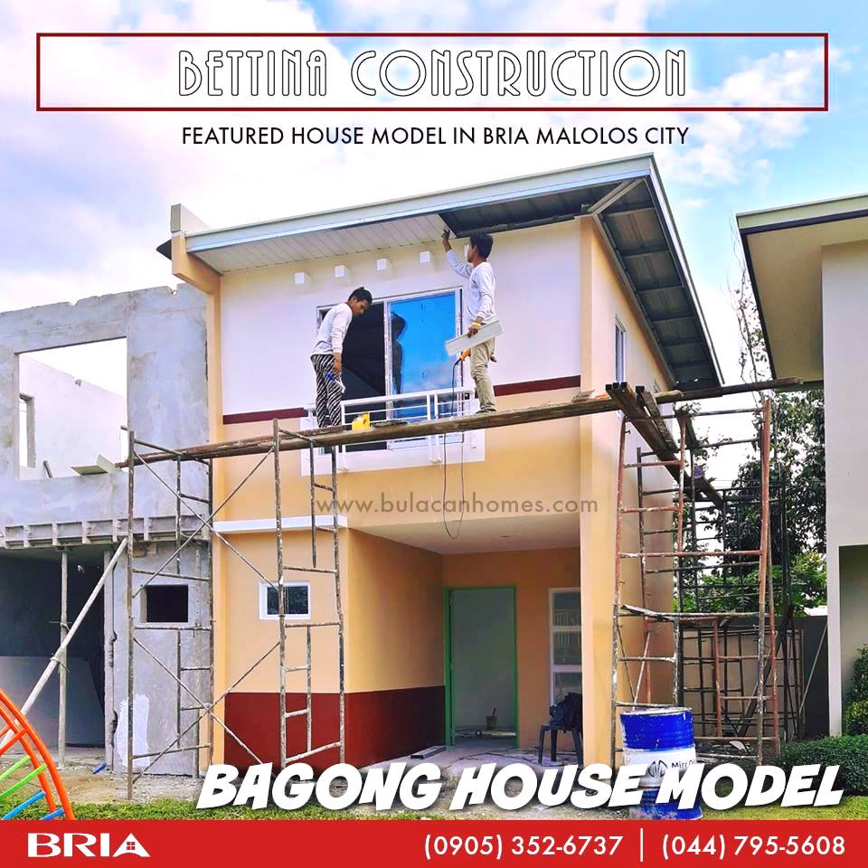 New House Model of Bria Homes Malolos, Bulacan: Bettina Model