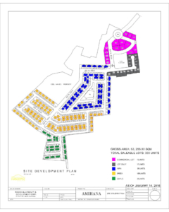 Amihana Subdivision Site Development Plan