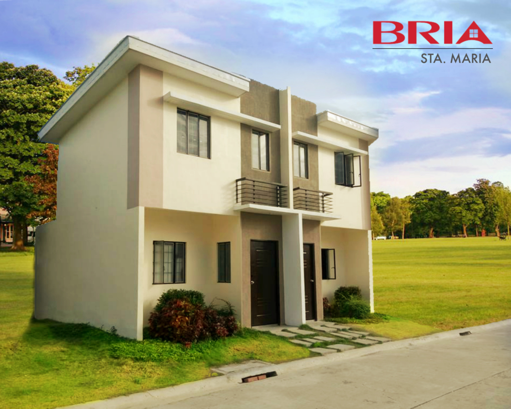 Angeli duplex bria homes sta maria bulacan bulacanhomes for Types of duplex houses
