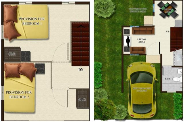 Bettina Bria Homes Floor Plan