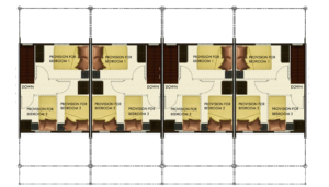 Bria Sta Maria - Angeli Townhouse Floor Plan Second Floor