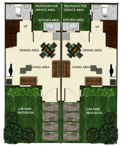 Bria Sta. Maria - Angeli Floor Plan Ground Floor