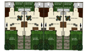 Bria Sta. Maria Angeli Townhouse Floor Plan Ground Floor