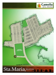 Camella Sta Maria Site development Plan
