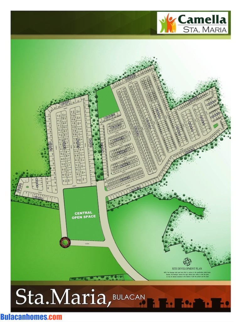 Camella sta maria bulacan bulacanhomes camella homes for Camella homes design with floor plan