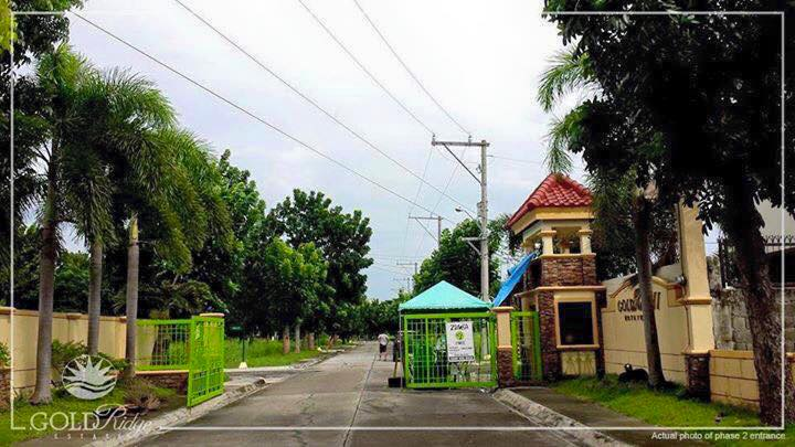 Entrance Gate 2 - Goldridge Guiguinto Bulacan