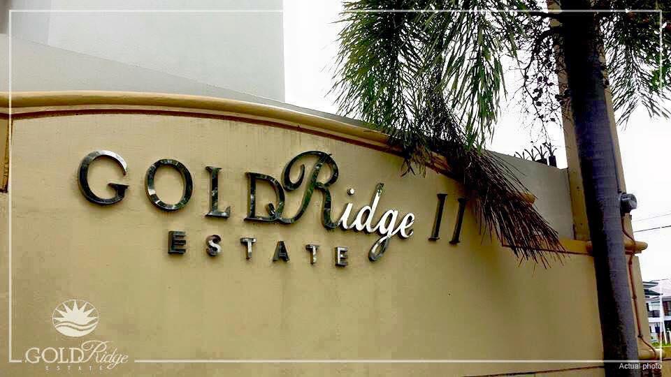 Signage 2 - Goldridge Guiguinto Bulacan
