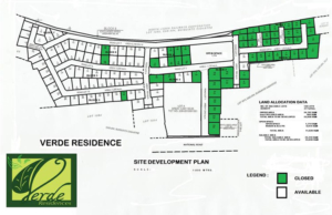 Verde Residences Guiguinto Site development plan